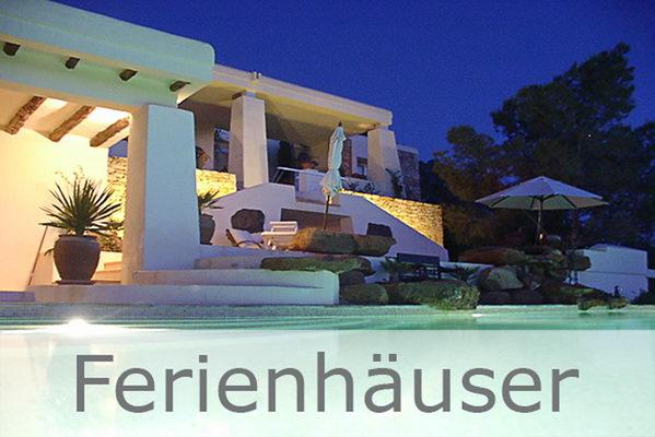 Alle Ibiza Ferienhäuser & Fincas