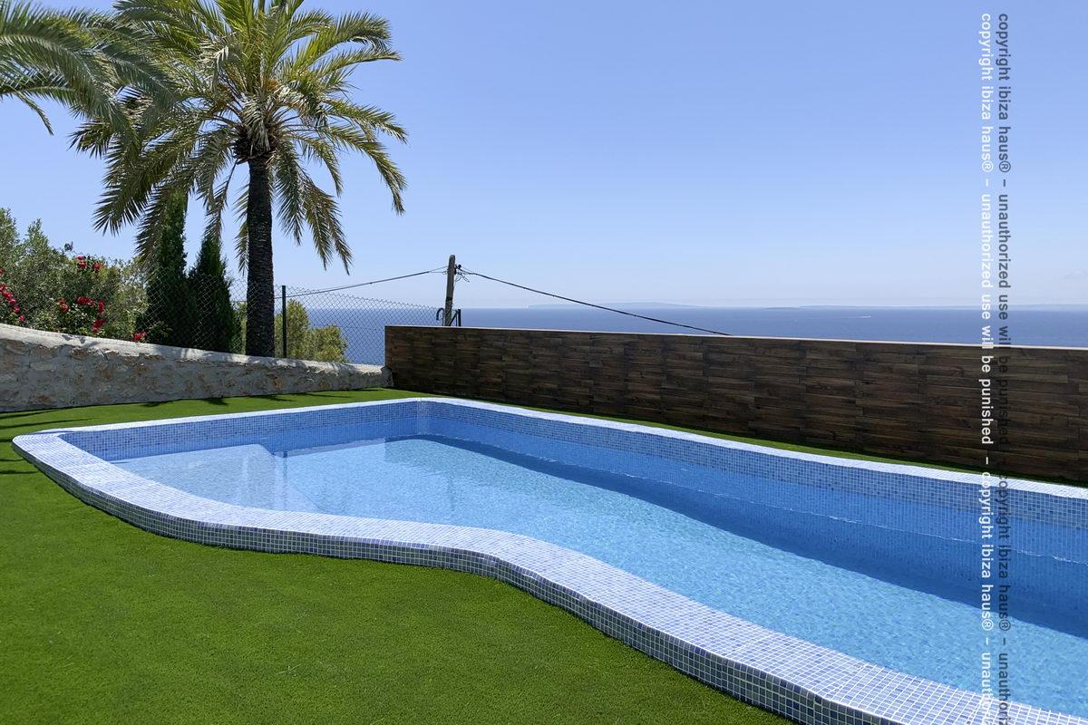 Ferienhaus am meer mit pool can talamanca 4 und mehr - Formentera ferienhaus mit pool ...