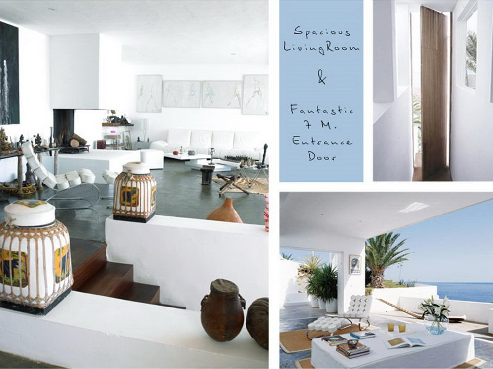 Moderne häuser innen schlafzimmer  Ibiza Luxusvilla - White House / Es Cubells - und mehr Villas