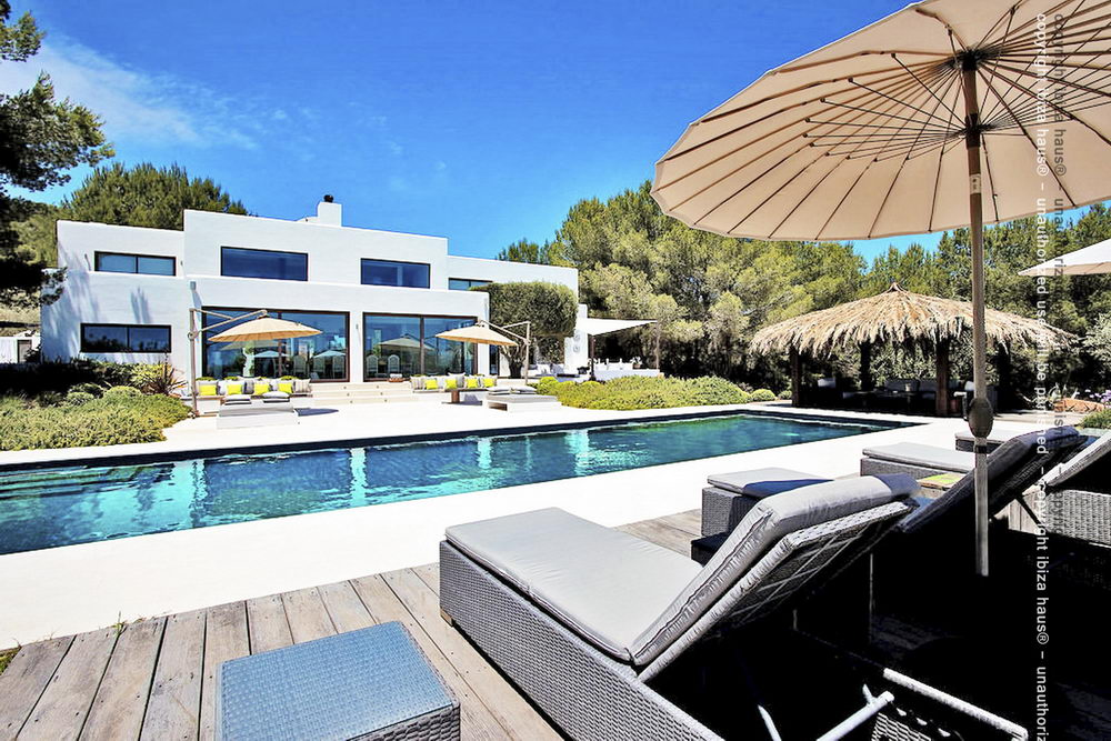 Modernes haus mit pool  Top Moderne Familien Luxusvilla - Can Sol - Boutique Hotel Style ...