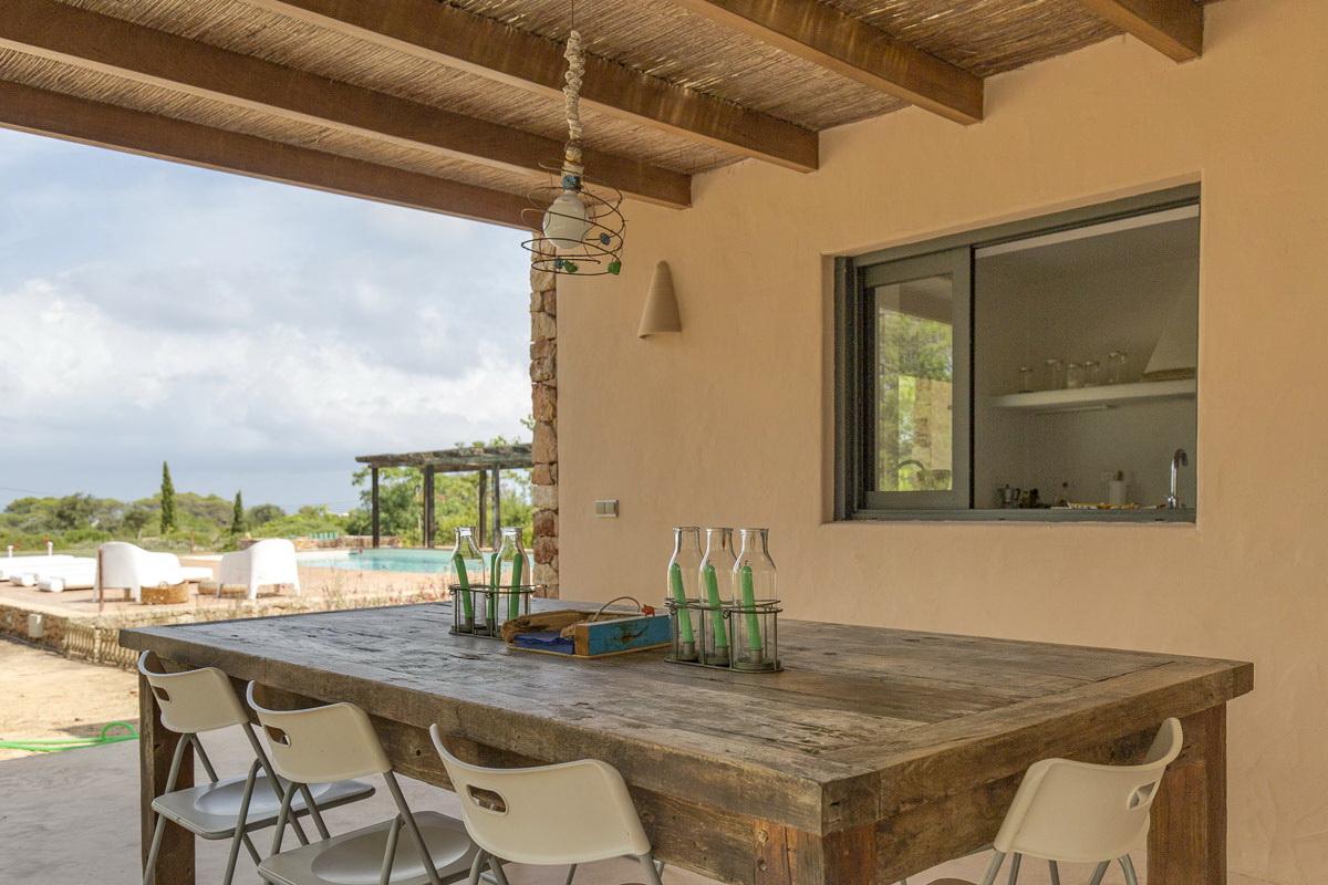 Ferienhaus urlaub casa formentera 6 mit ibiza haus - Formentera ferienhaus mit pool ...
