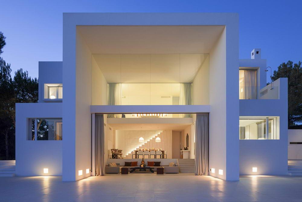 Ibiza luxusvilla de la luz und mehr ibiza minimalistische villas