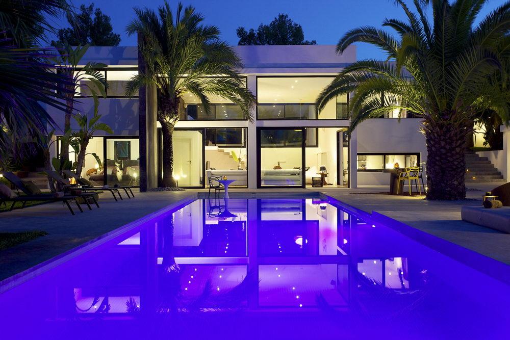 Moderne luxusvilla mit pool  Ibiza Ferienhaus, Finca, Villa, Ferienwohnung, Appartement günstig ...